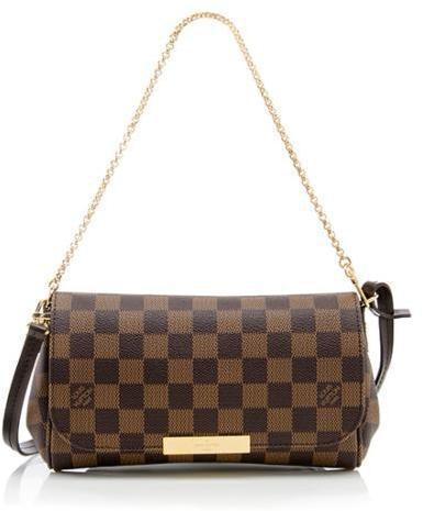 Louis Vuitton Favorite Damier Ebene PM Brown