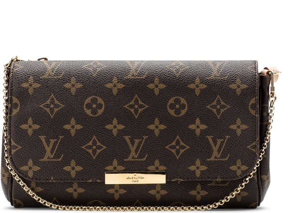 0edaddb87b76 Louis Vuitton Favorite Monogram MM Brown