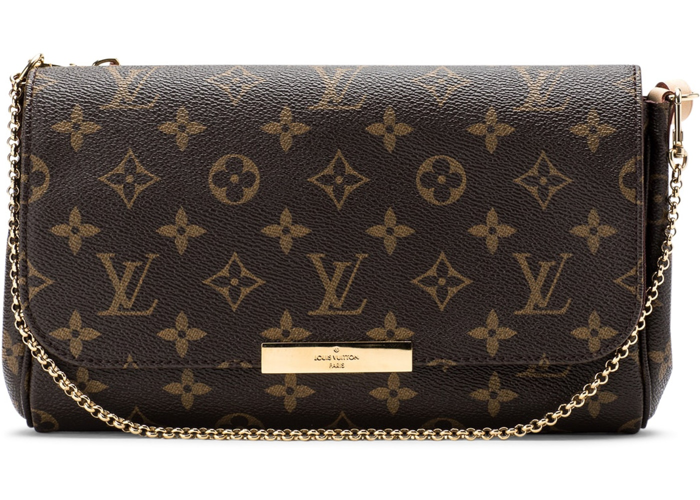 aacedfdc Louis Vuitton Favorite Monogram MM Brown Lining