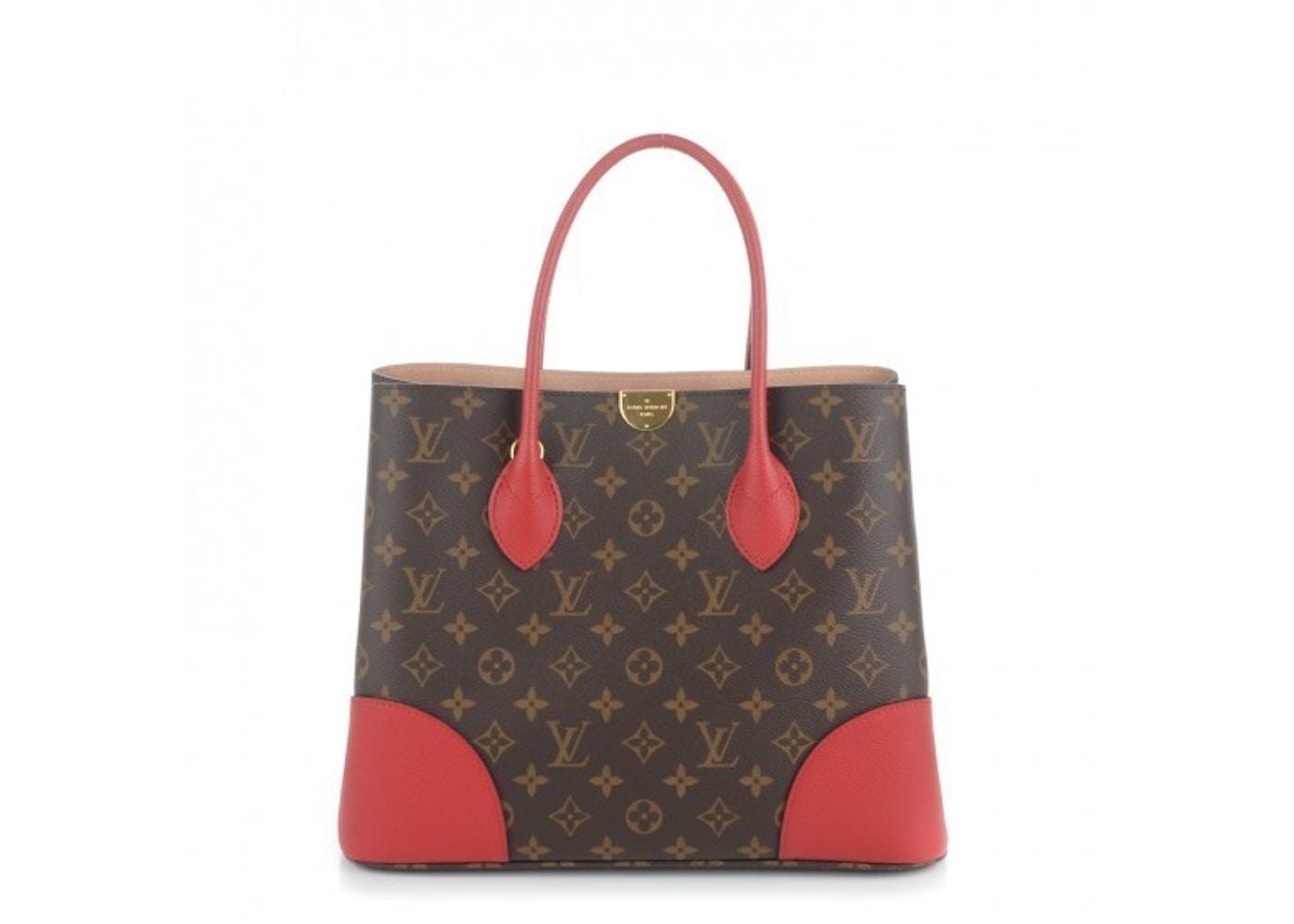 27bfc39627a Louis Vuitton Flandrin Monogram Brown, Cerise Cherry