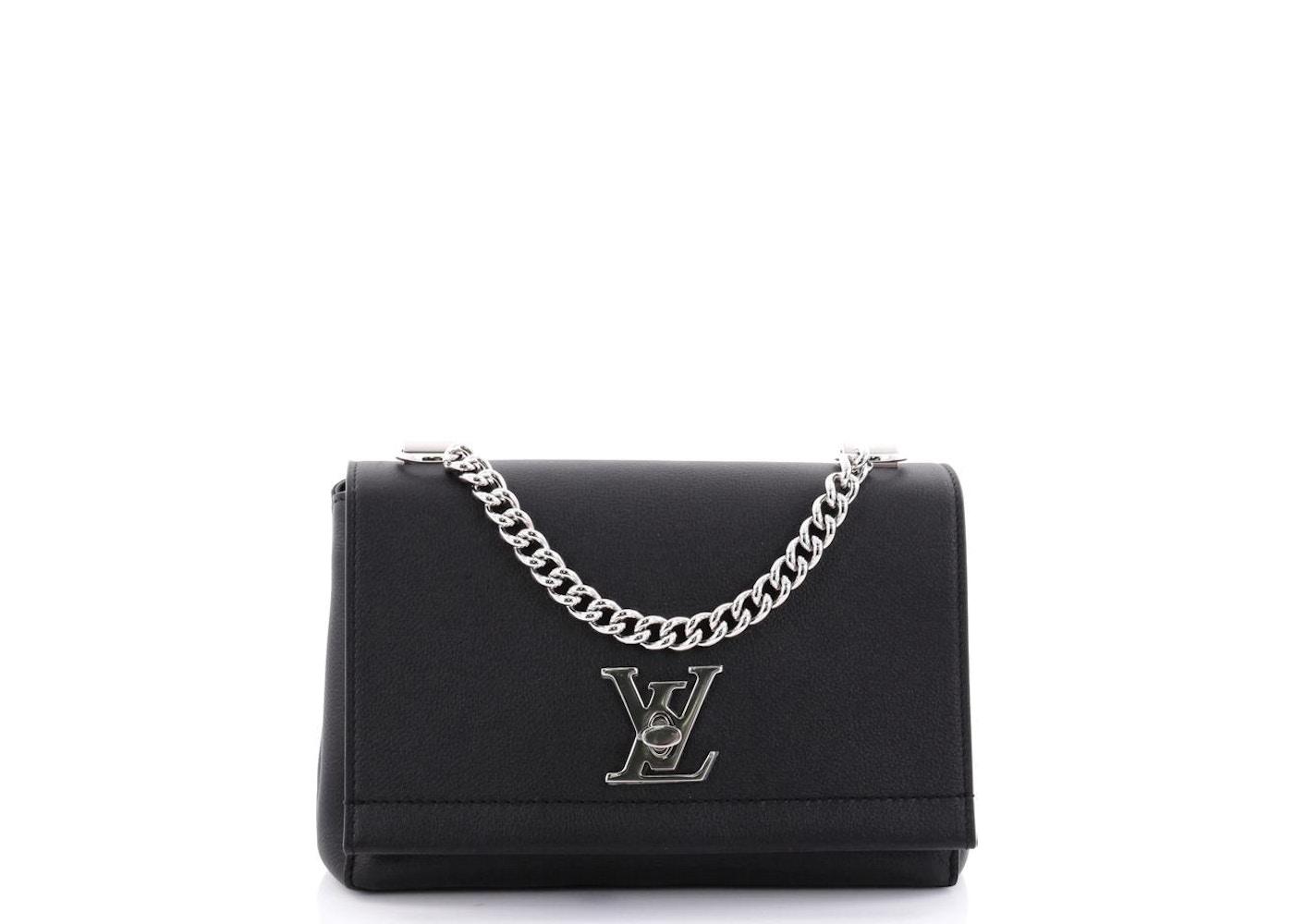 0d4251e873b1 Louis Vuitton Flap Lockme II BB Black. BB Black