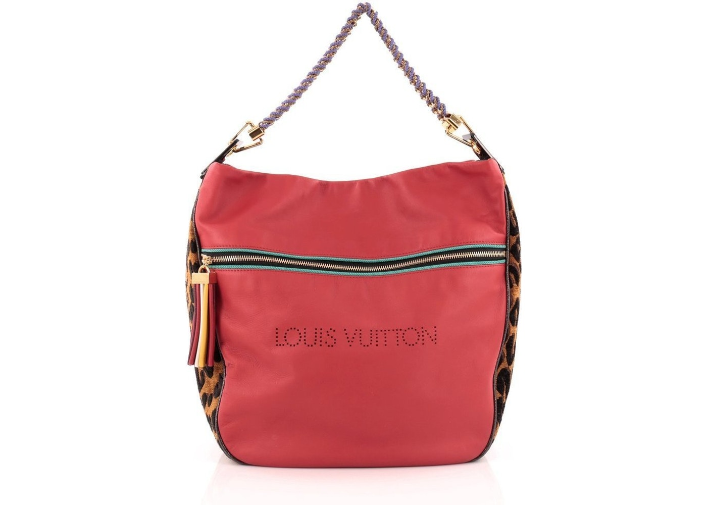 6c517feb109e Sell. or Ask. View All Bids. Louis Vuitton Flight Safari Rouge Leopard