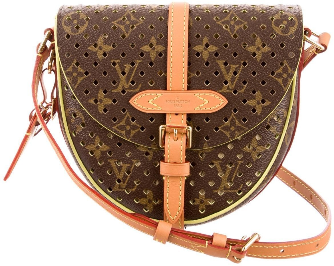 Louis Vuitton Flore Chantilly Monogram Perforated Brown