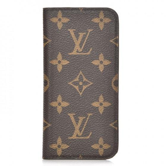 Louis Vuitton Folio Case iPhone 6 Monogram Brown