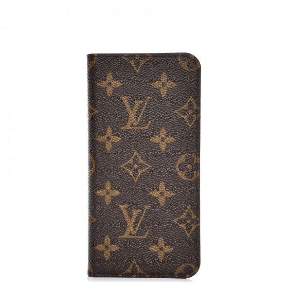 Louis Vuitton Folio Case Iphone 7 Plus Monogram