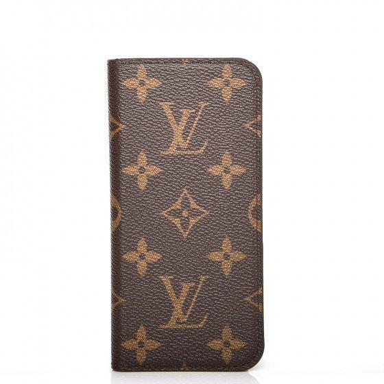 Louis Vuitton Folio Case Monogram Brown