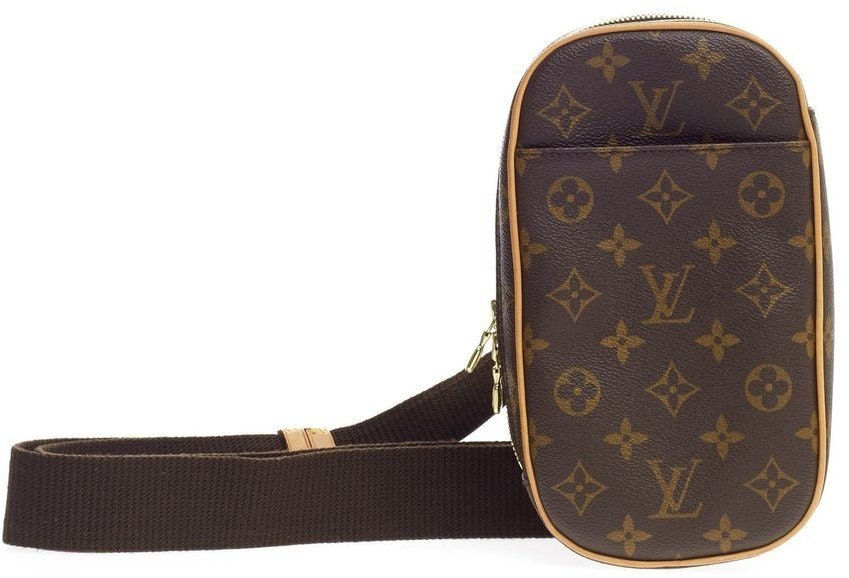 Louis Vuitton Gange Pochette Monogram Brown