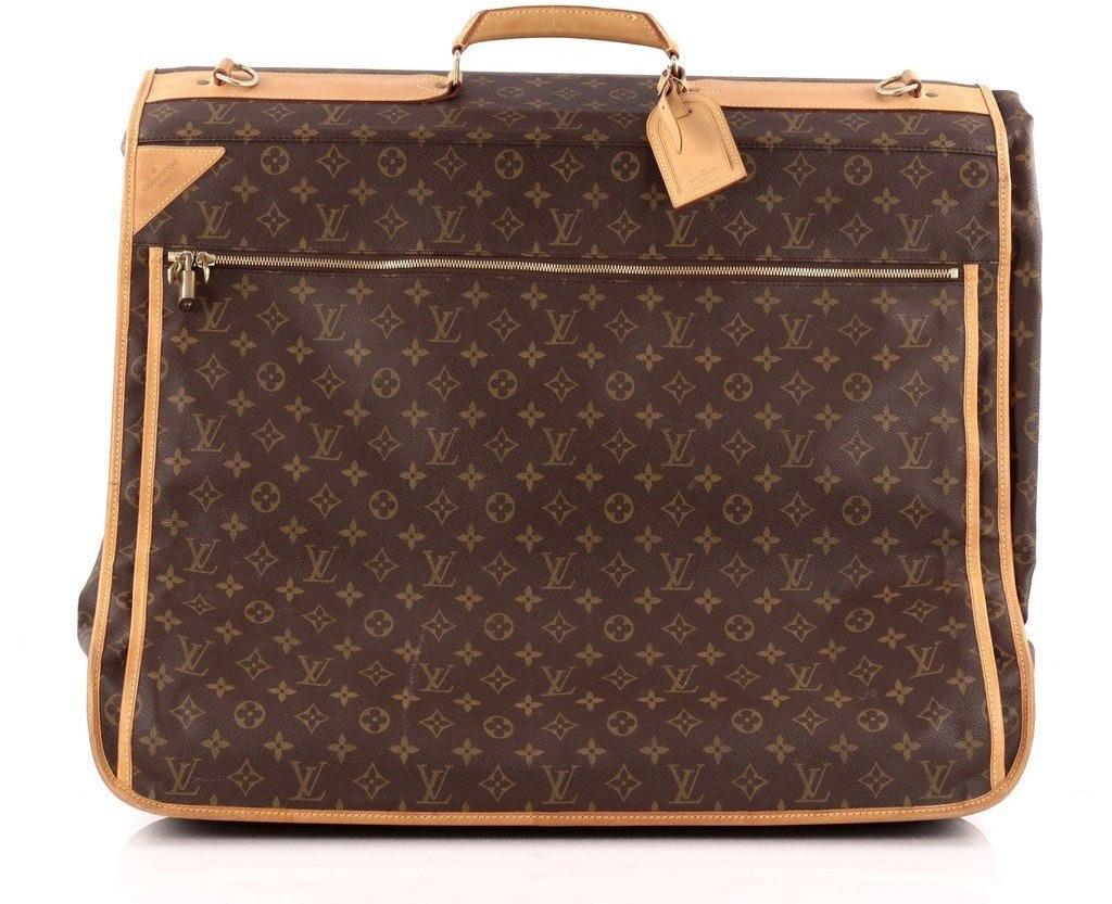 Louis Vuitton Garment Carrier Five Hanger Monogram Brown