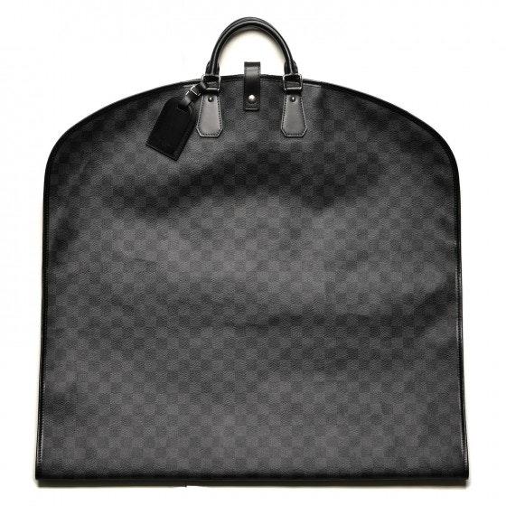 Louis Vuitton Garment Cover Damier Graphite Black