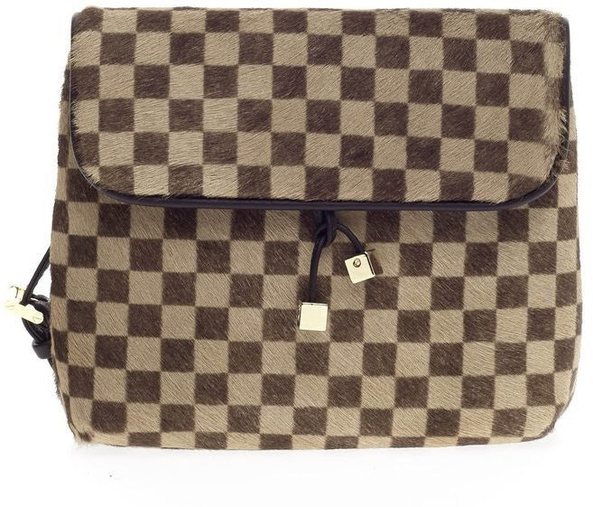 Louis Vuitton Gazelle Damier Sauvage Brown