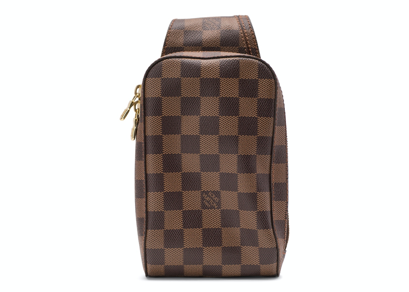 84f120fd65e Louis Vuitton Geronimos Damier Ebene Brown