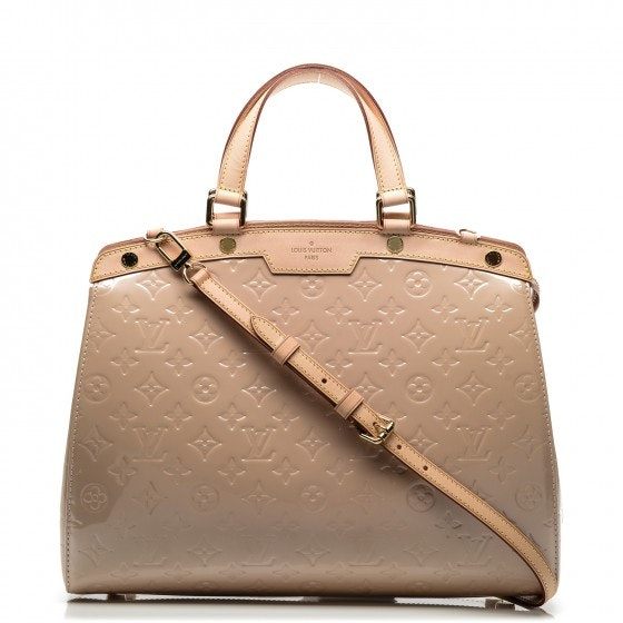 Louis Vuitton Handbag Brea Monogram Vernis GM Rose Florentine