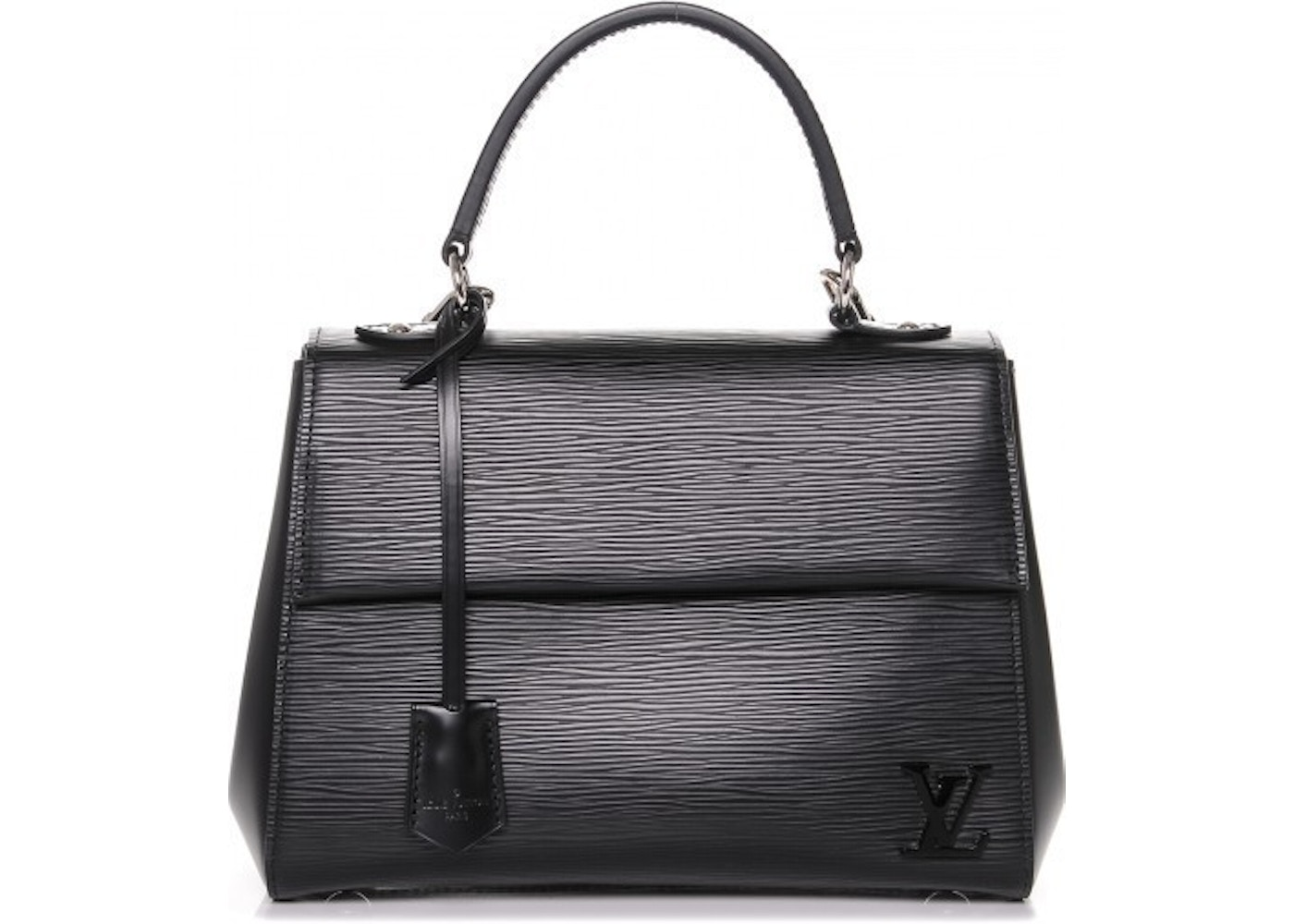 Louis Vuitton Handbag Shoulder Cluny Epi Bb Noir Black