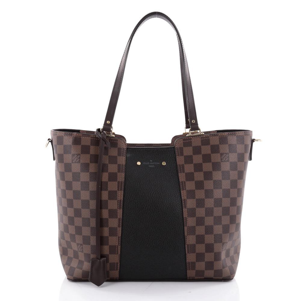 Louis Vuitton Handbag Jersey Damier Ebene