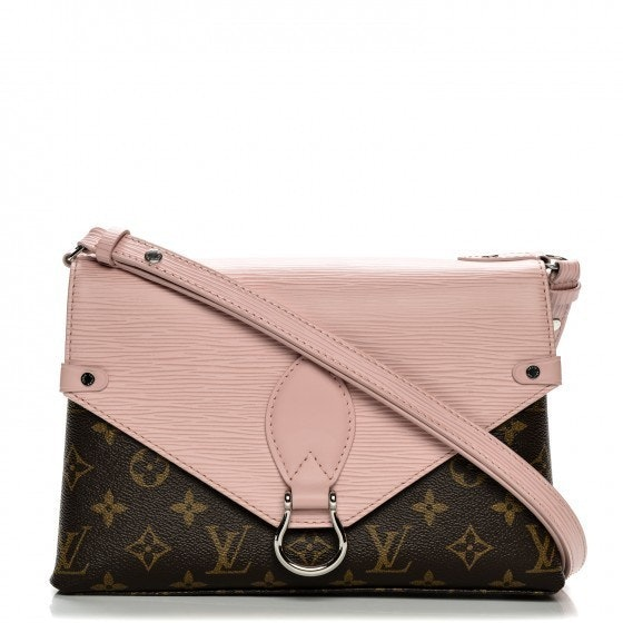 Louis Vuitton Handbag Saint Michel Monogram Epi  Rose Ballerine