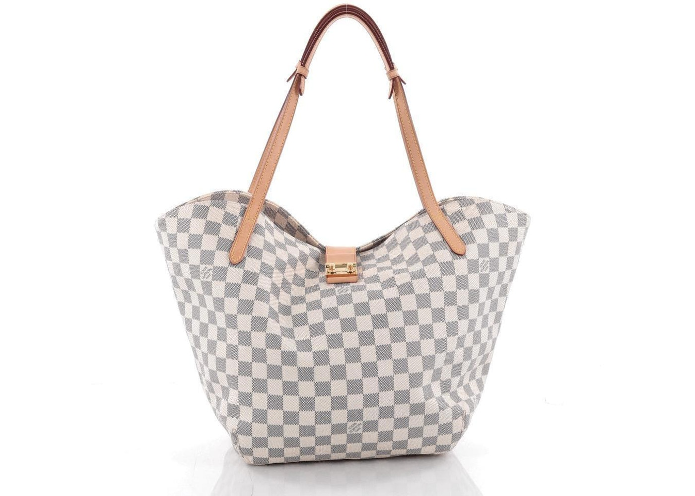 8bf83ae073a Louis Vuitton Handbag Salina Damier Azur GM White/Blue