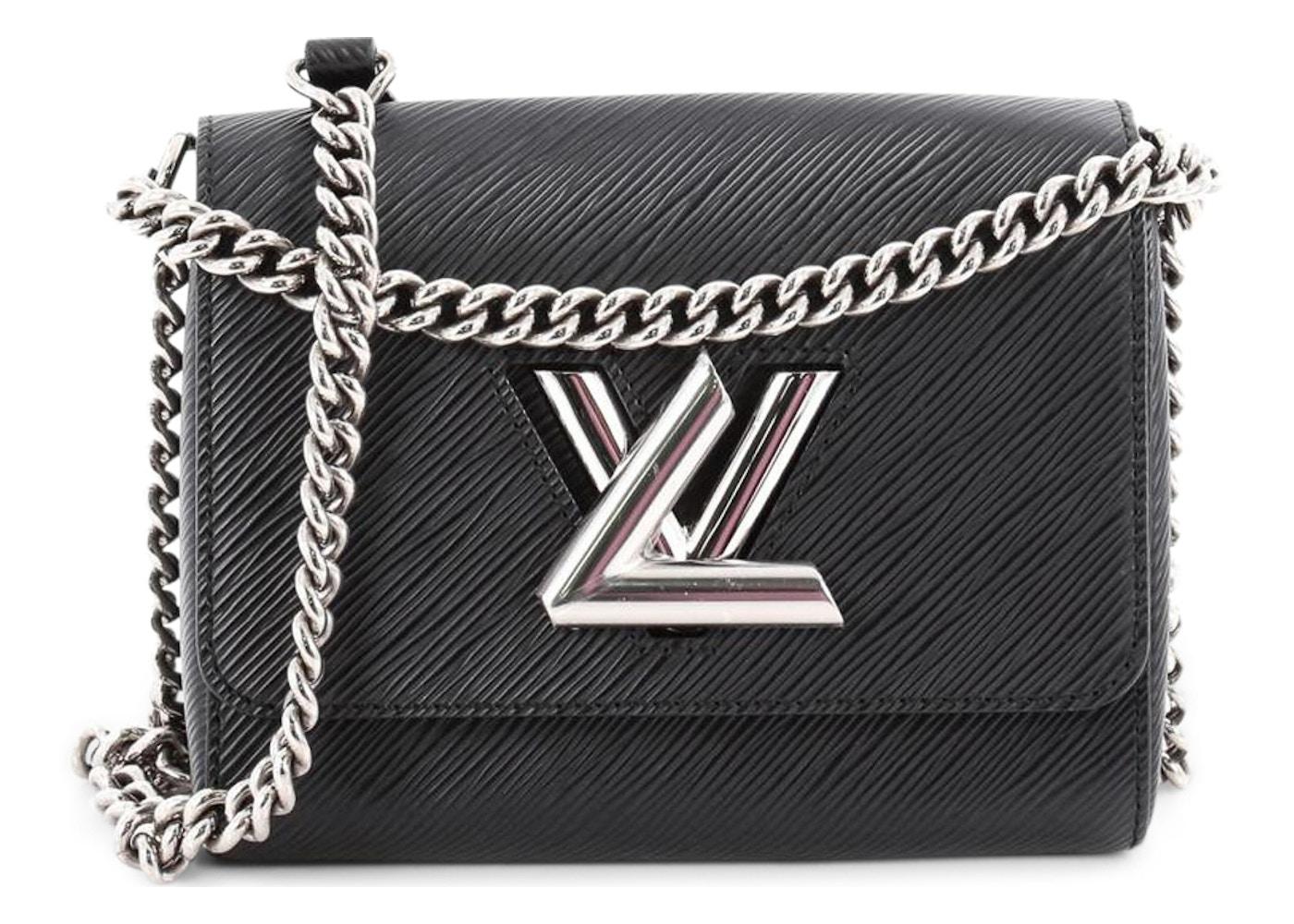 6f7711451724c Louis Vuitton Handbag Twist Epi PM Black. Epi PM Black
