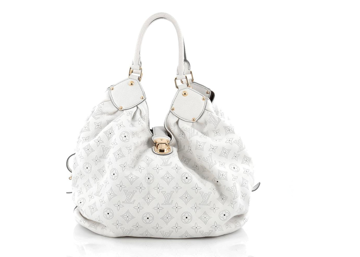 9fa022983ec Louis Vuitton Hobo Monogram Mahina Perforated XL White