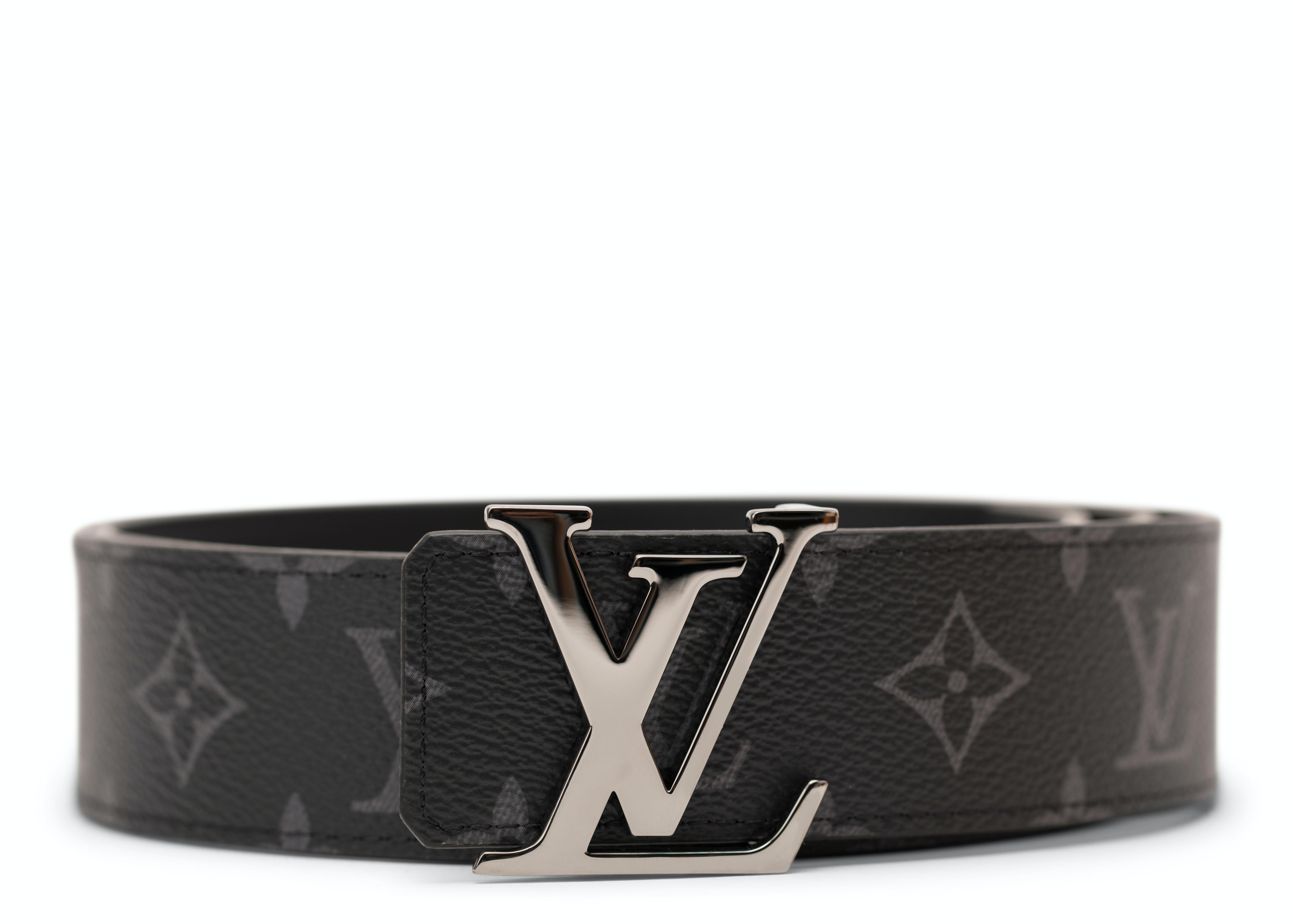 Louis Vuitton Initiales Belt Monogram Eclipse Black/Gray