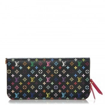 Louis Vuitton Insolite Wallet Monogram Multicolore Grenade Black