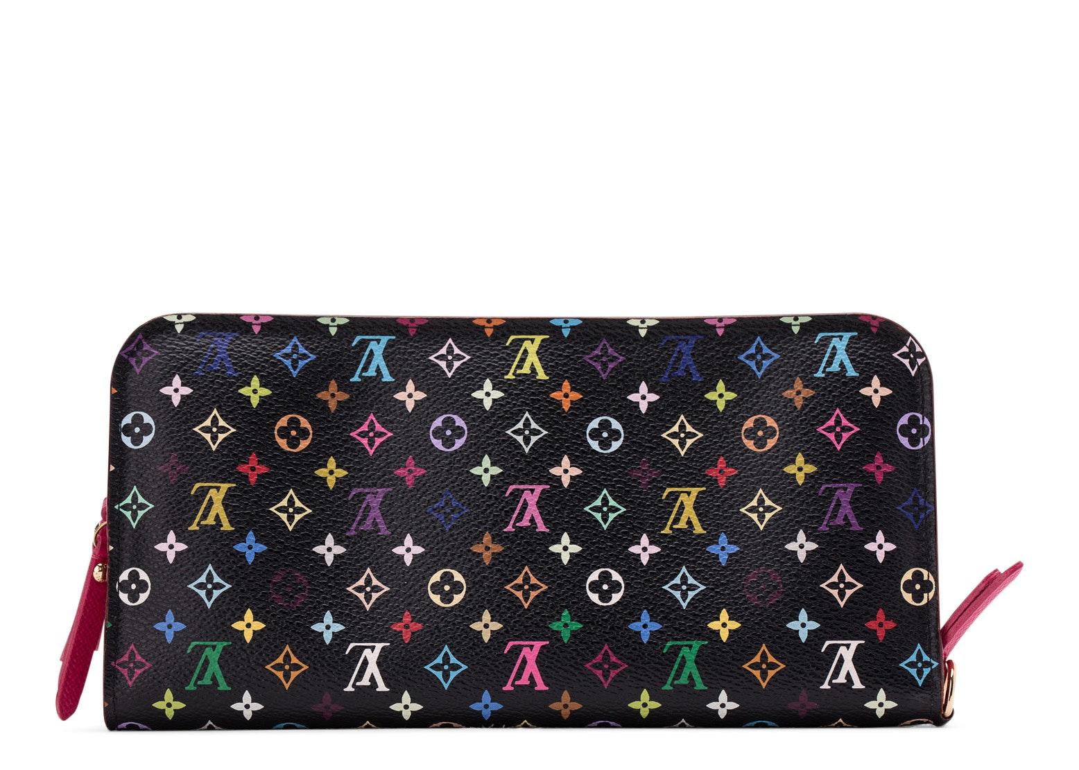 Louis Vuitton Insolite Wallet Monogram Multicolore Grenade Black