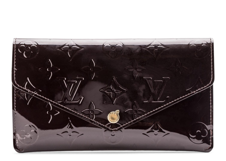 Louis Vuitton Jeane Wallet Vernis Amarante