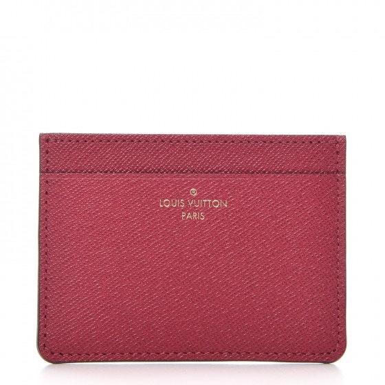 Louis Vuitton Jeanne Wallet Card Holder Insert Fuchsia