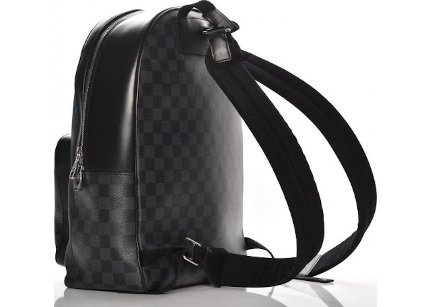 dcc5945b26f9 Louis Vuitton Josh Damier Christopher Nemeth Rope Graphite Black Blue  Black Blue