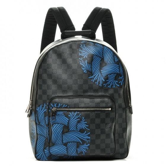 Louis Vuitton Josh Damier Christopher Nemeth Rope Graphite Black/Blue Black/Blue