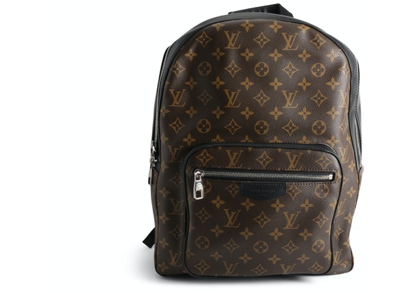 87b9a240300 Louis Vuitton Josh Monogram Macassar Brown