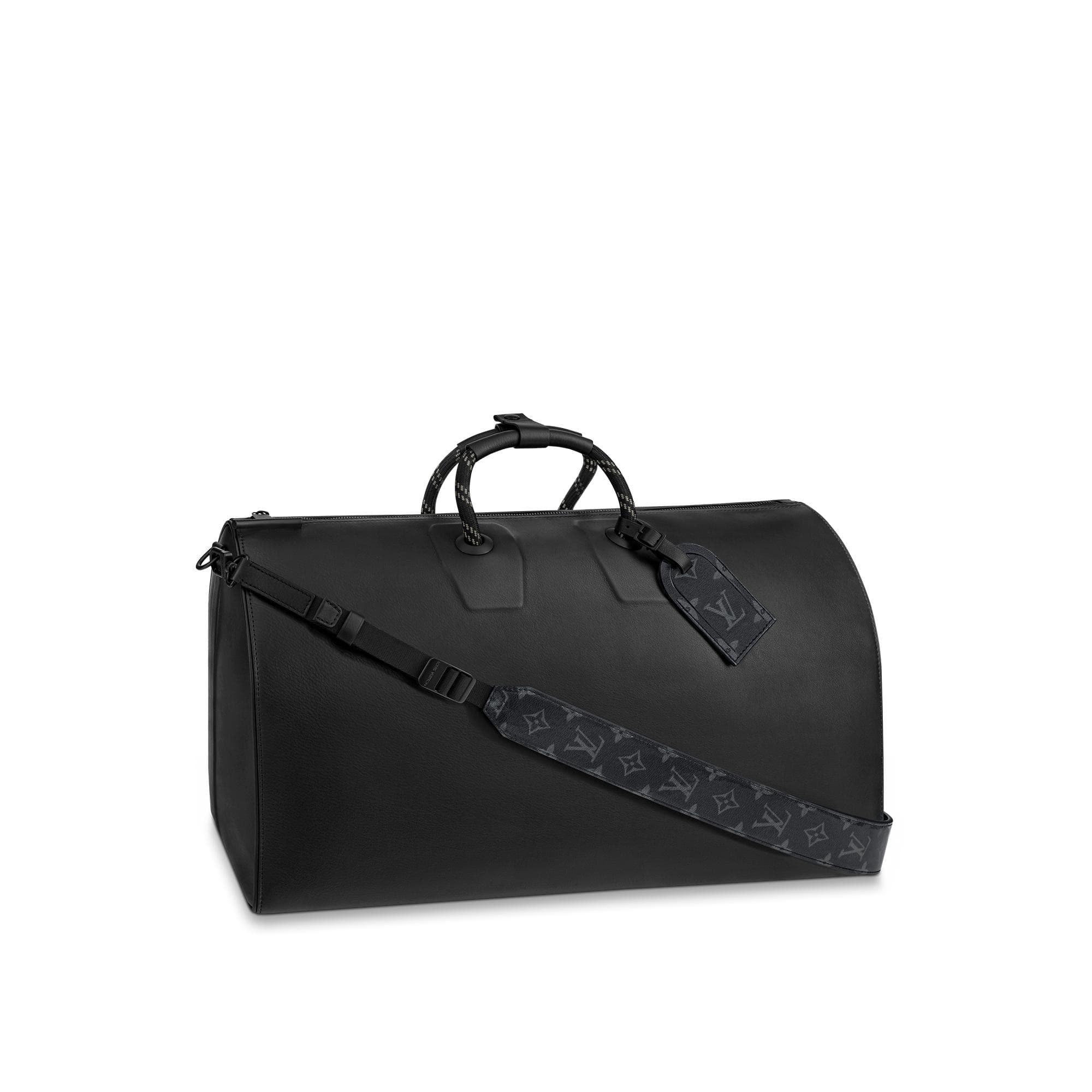 Louis Vuitton Keepall Bandouliere 50 Black Dark Infinity