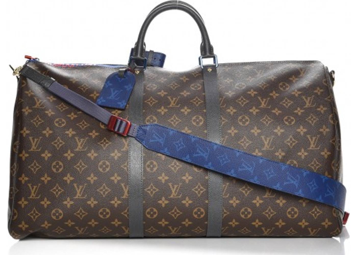850b97380 Louis Vuitton Keepall Bandouliere Monogram Outdoor 55 Brown. Monogram  Outdoor 55 Brown