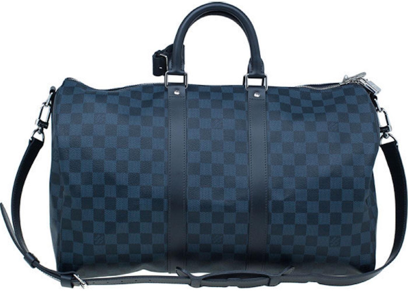 69965c957d63 Louis Vuitton Keepall Bandouliere Damier Cobalt 55 Blue