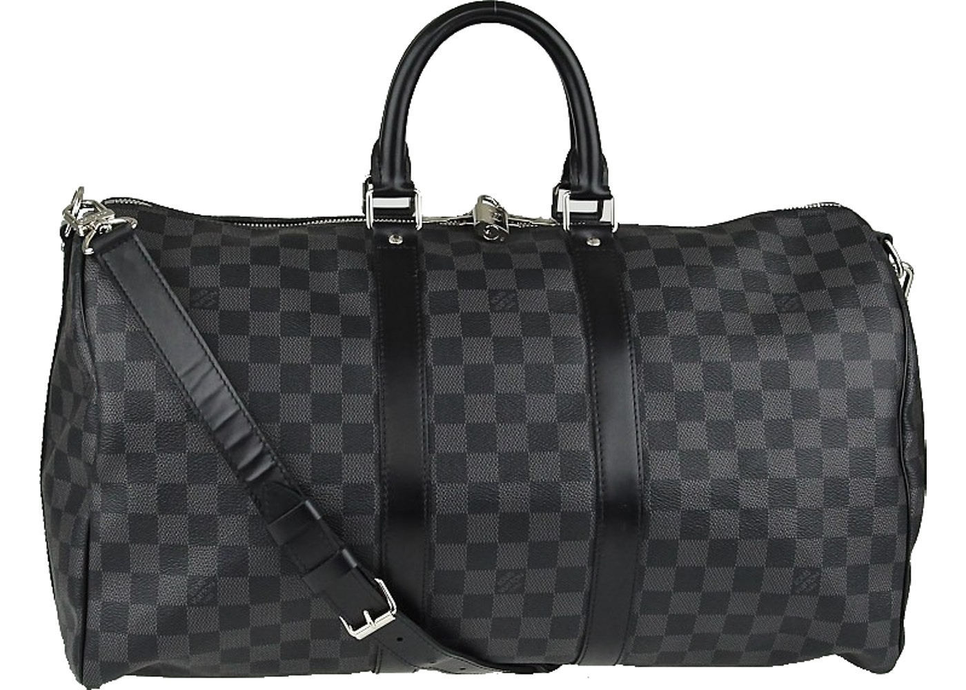 f99d88ae5469 Louis Vuitton Keepall Bandouliere Damier Graphite 45 Black