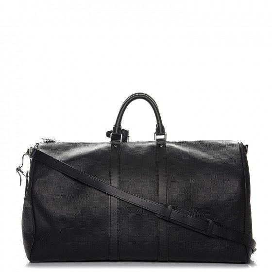 Louis Vuitton Keepall Bandouliere Damier Infini 55 Onyx