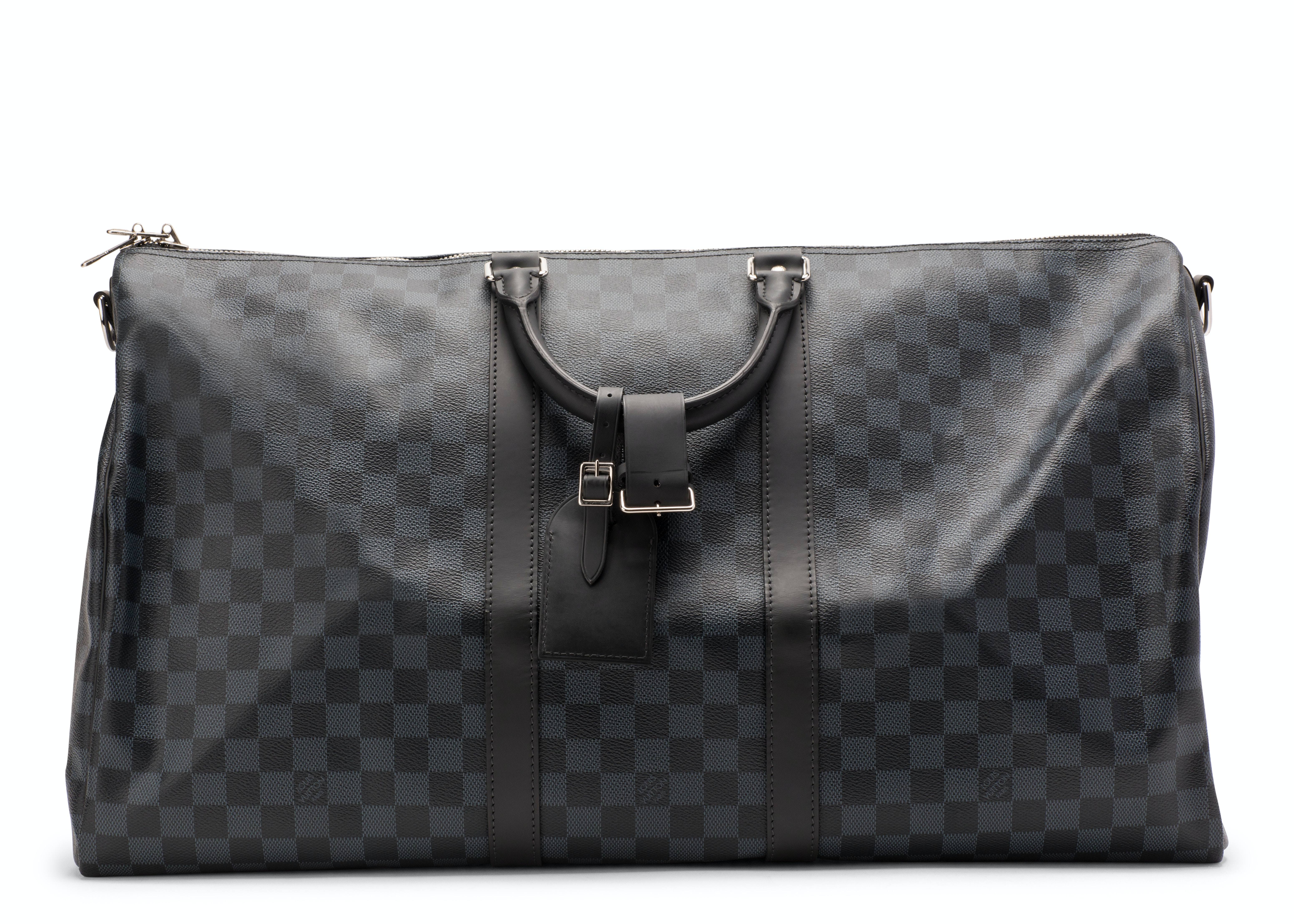 Louis Vuitton Keepall Bandouliere Damier (With Accessories) 55 Cobalt