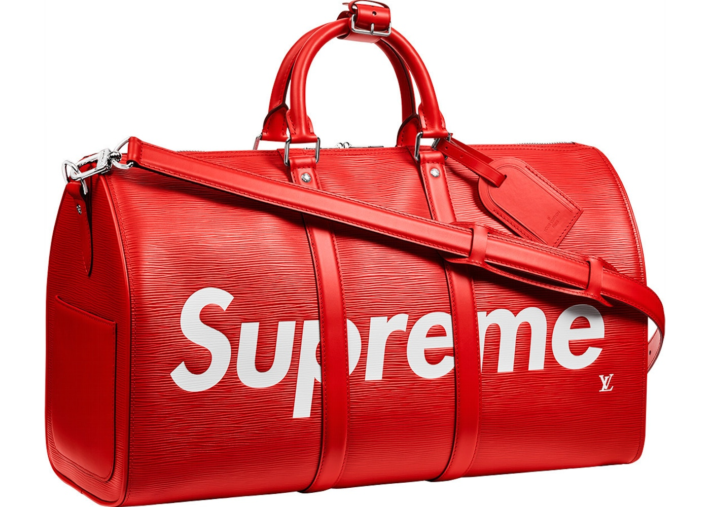 Or Ask View All Bids Louis Vuitton X Supreme Keepall
