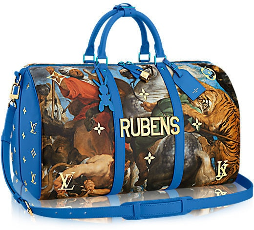 Louis Vuitton Duffle Keepall Bandouliere Tiger Hunt (With Accessories) 50