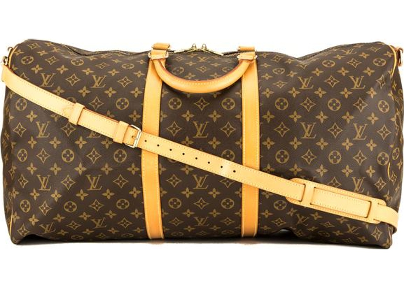 6ec915dd9 Louis Vuitton Keepall Bandouliere Monogram (Without Accessories) 60 Brown.  Monogram (Without Accessories) 60 Brown