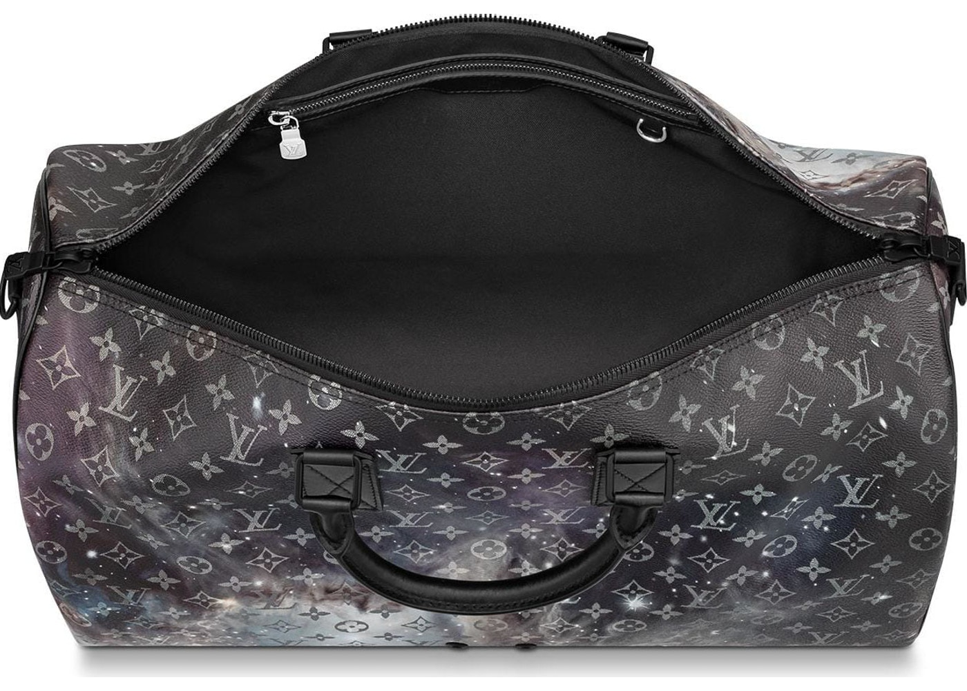 Louis Vuitton Keepall Bandouliere Monogram Galaxy 50 Black Multicolor 481a8a2650a1d