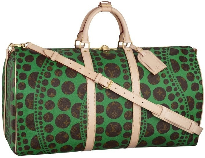 Louis Vuitton Keepall Bandouliere Monogram Waves 55 Brown/Green