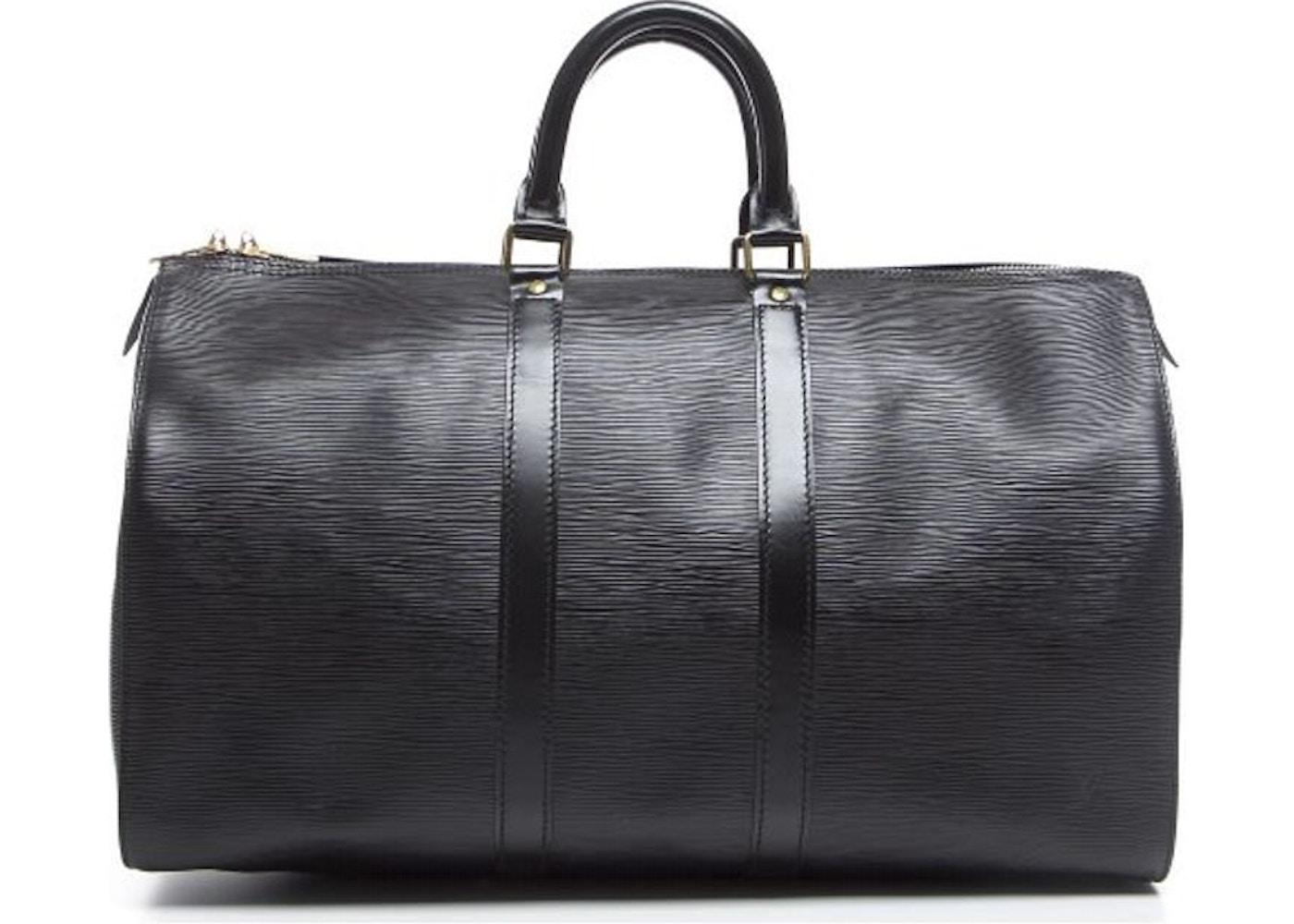 7ad0f460be5b Louis Vuitton Keepall Epi 45 Black. Epi 45 Black