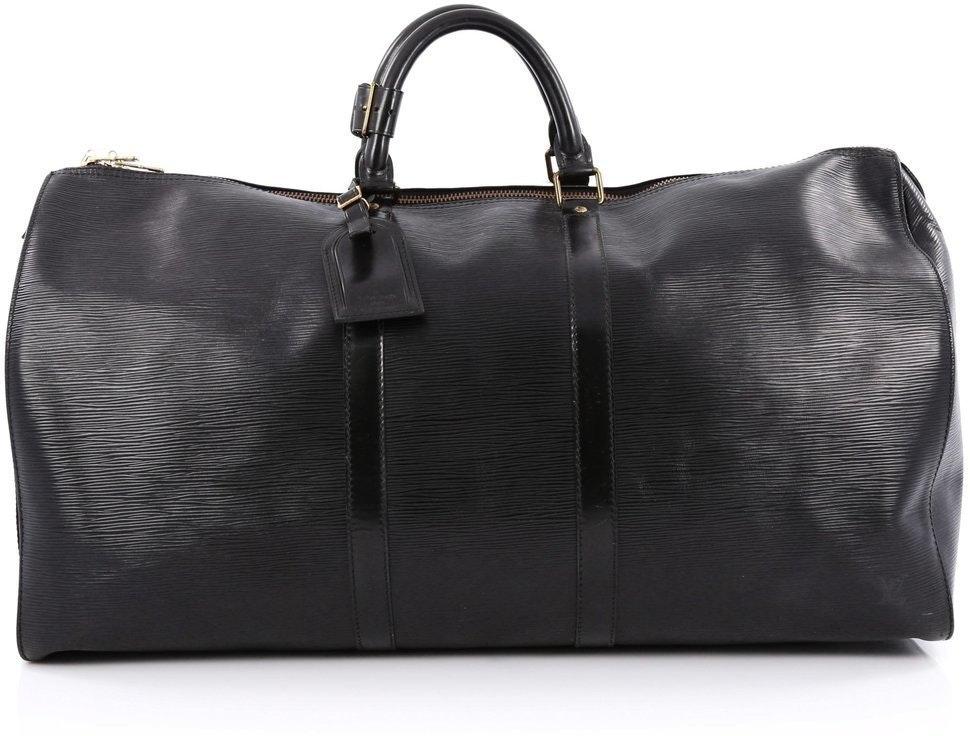 Louis Vuitton Keepall Epi 55 Black