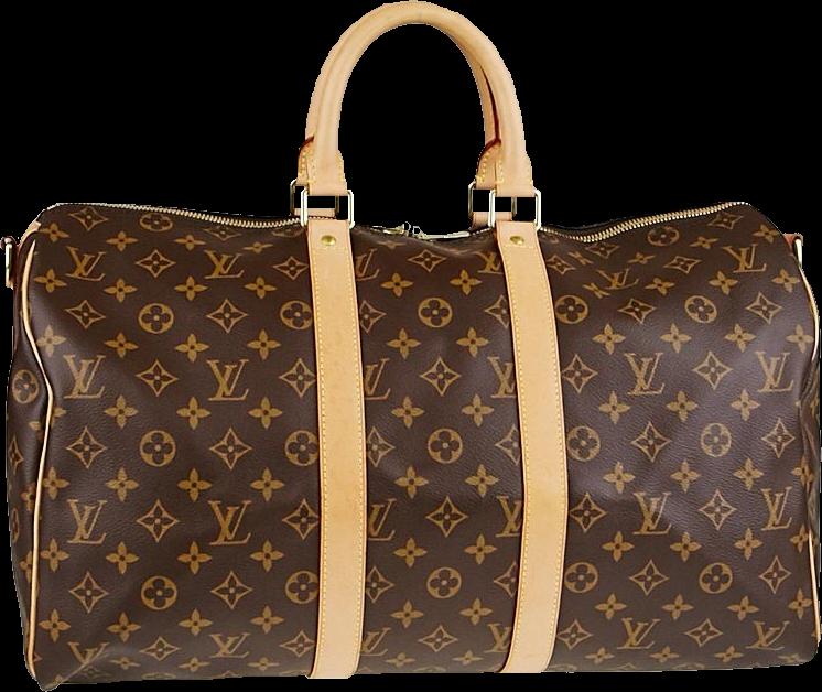 Louis Vuitton Keepall Monogram 45 Brown