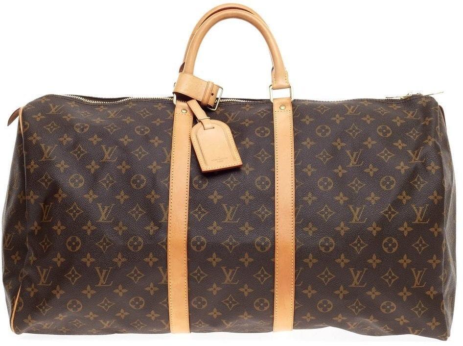Louis Vuitton Keepall Monogram 55 Brown