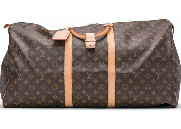 c203720ff73f Louis Vuitton Keepall (With Accessories) Monogram 60 Brown