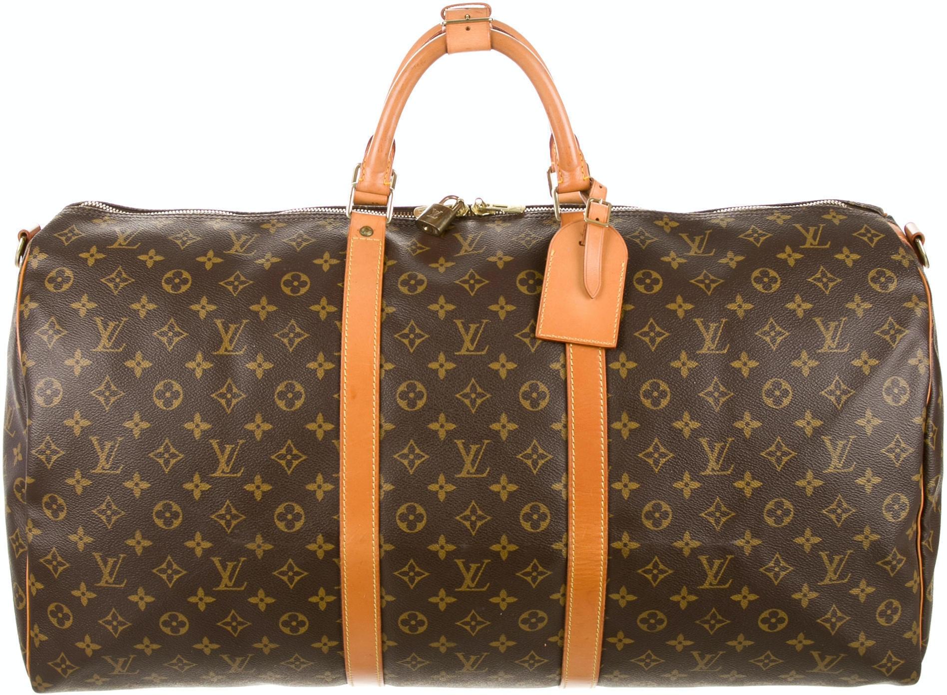 Louis Vuitton Keepall Monogram 60 Brown