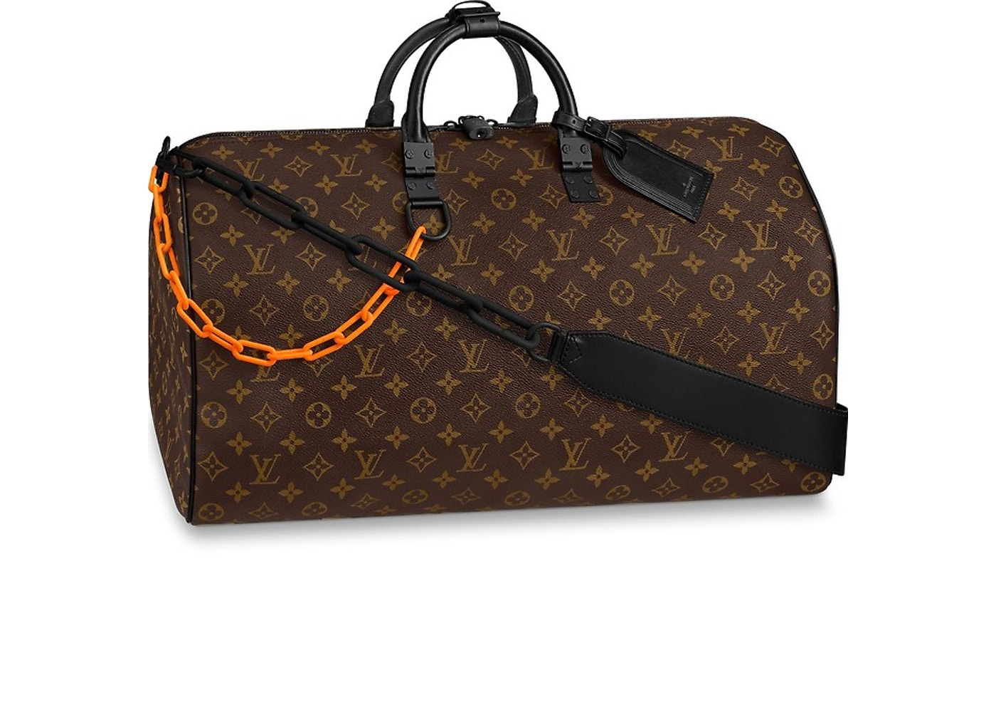 465edac3bea Louis Vuitton Keepall Bandouliere 50 Canvas Brown