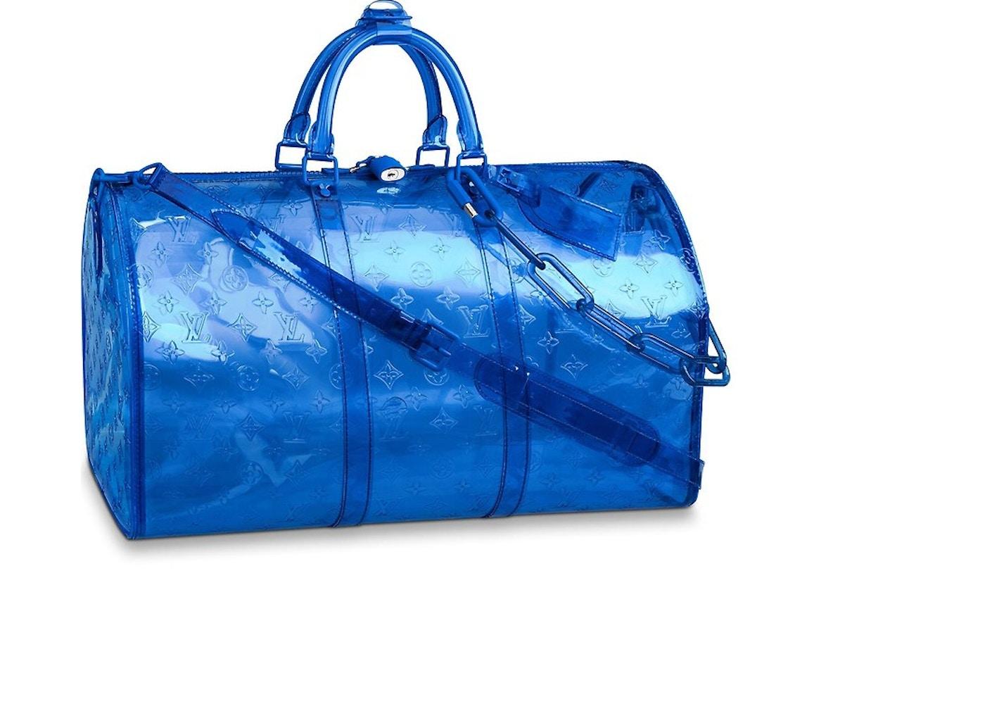 dd98536b1206 Louis Vuitton Keepall Monogram Bandouliere 50 Blue. Monogram Bandouliere 50  Blue