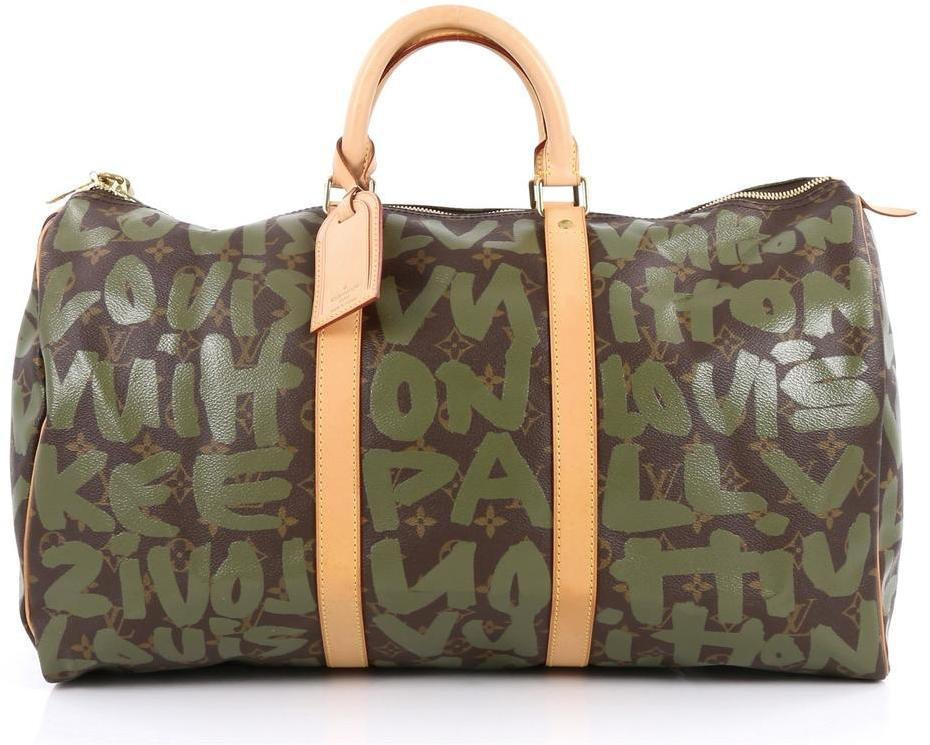 Louis Vuitton Keepall Monogram Stephen Sprouse 50 Brown/Khaki